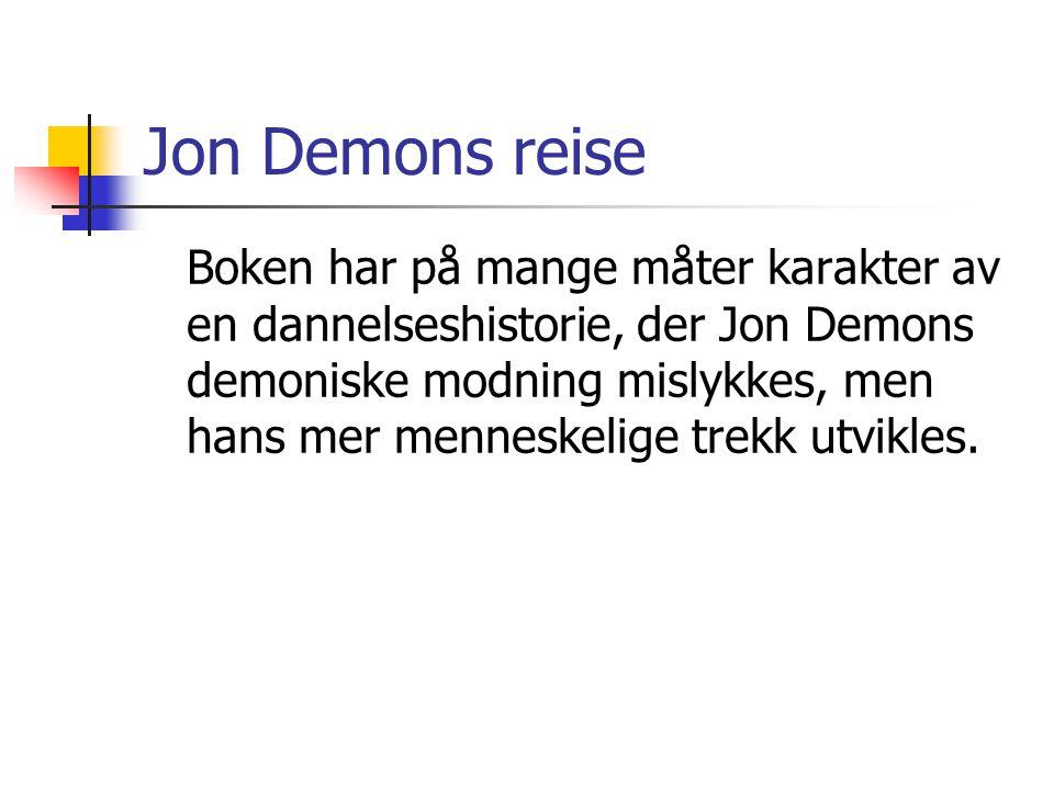 Jon Demons reise
