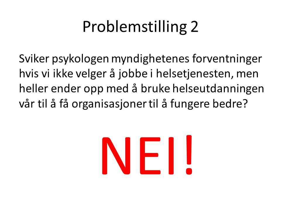 Problemstilling 2