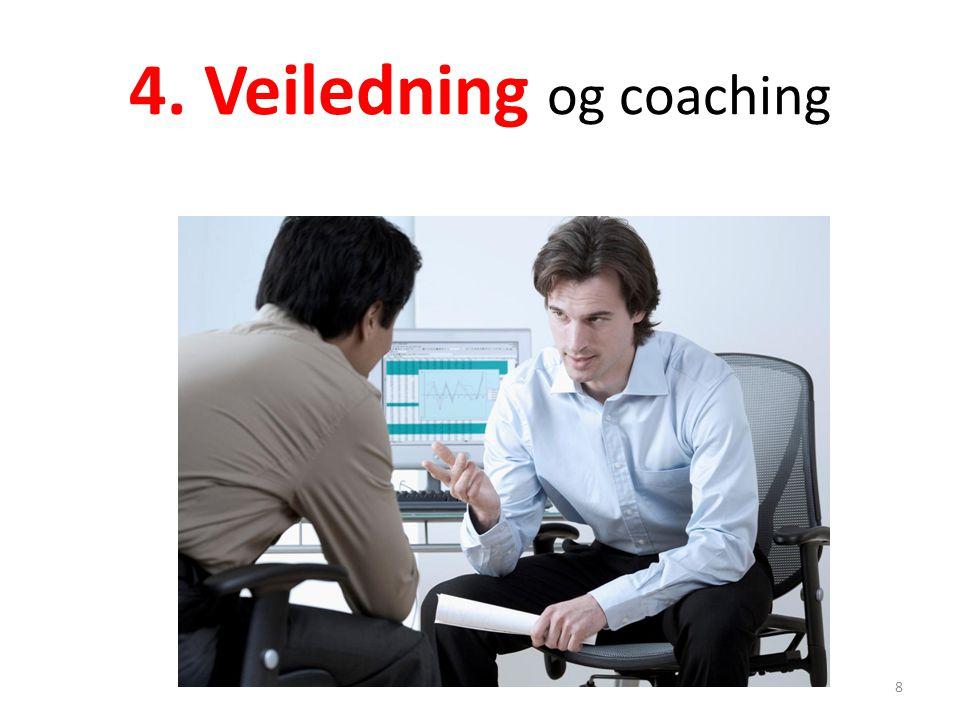 4. Veiledning og coaching