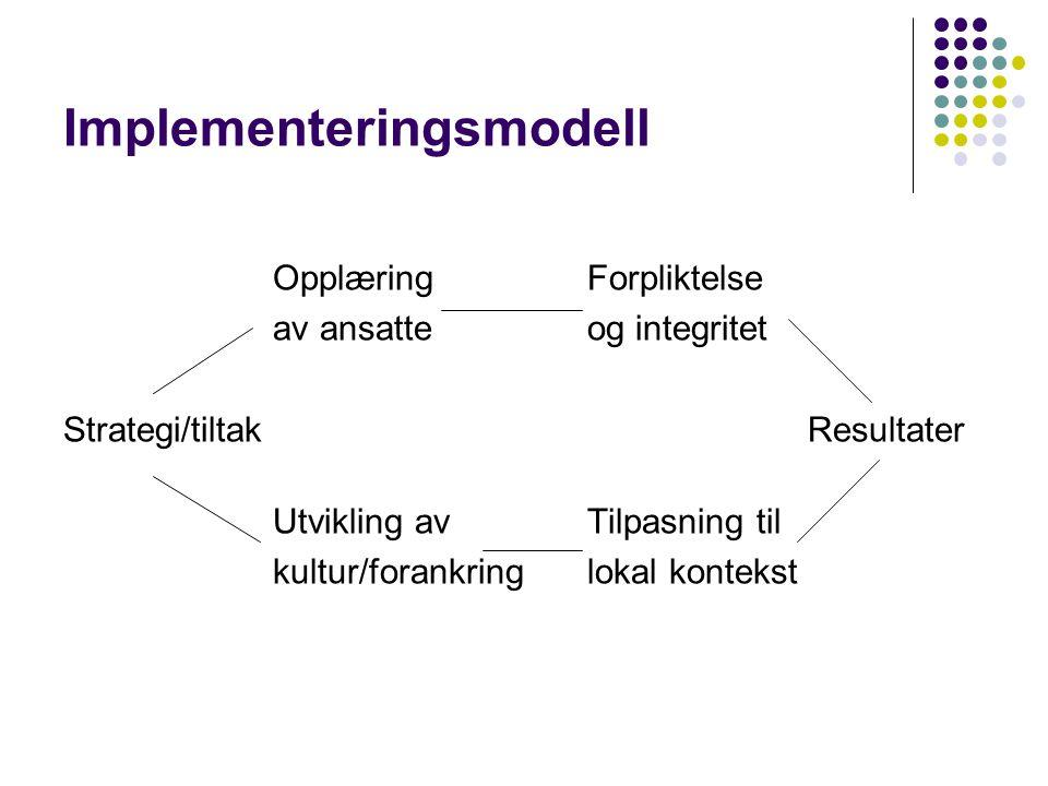 Implementeringsmodell