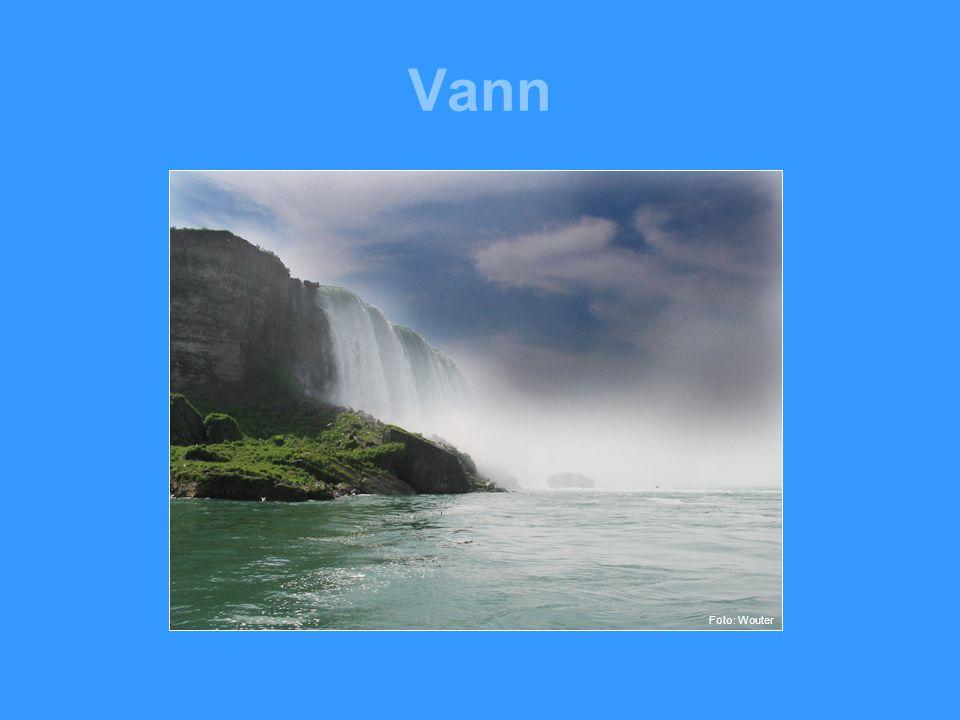 Vann Foto: Wouter