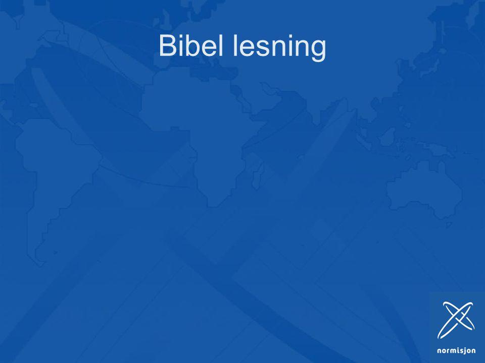 Bibel lesning 15