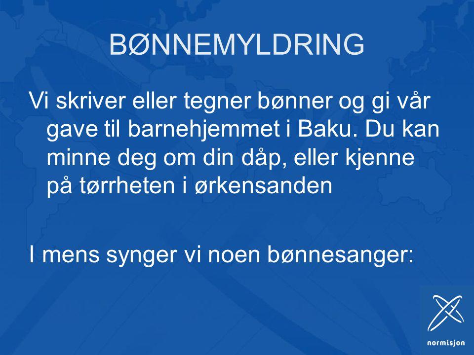 BØNNEMYLDRING