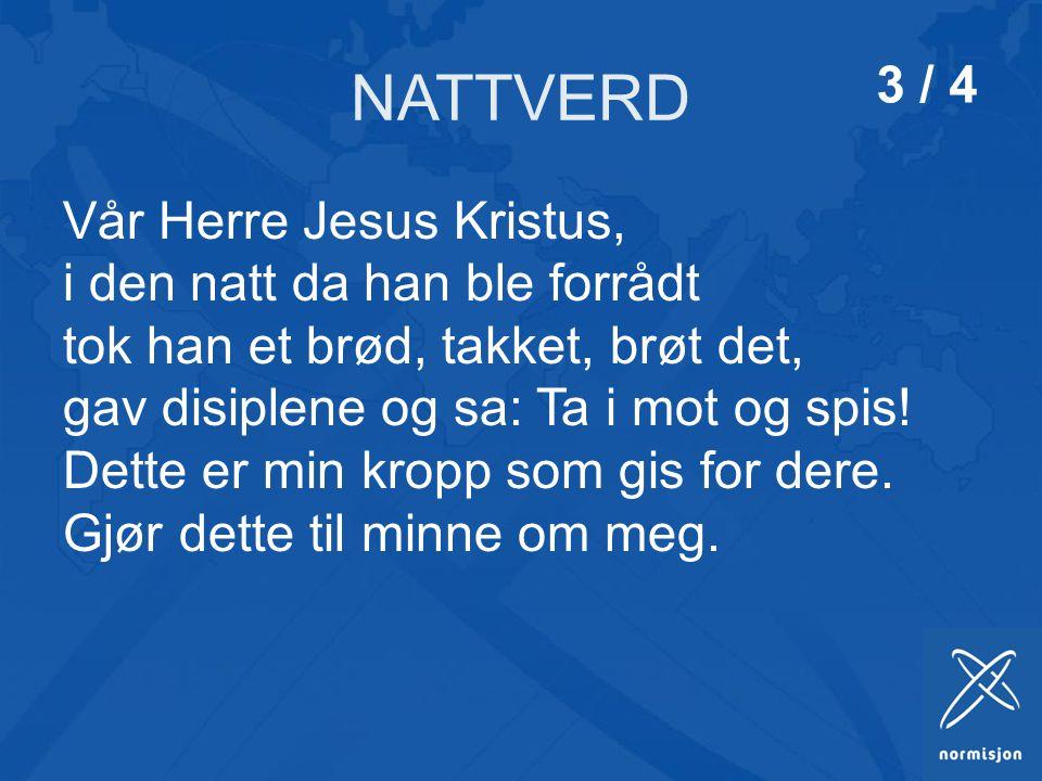 NATTVERD 3 / 4.