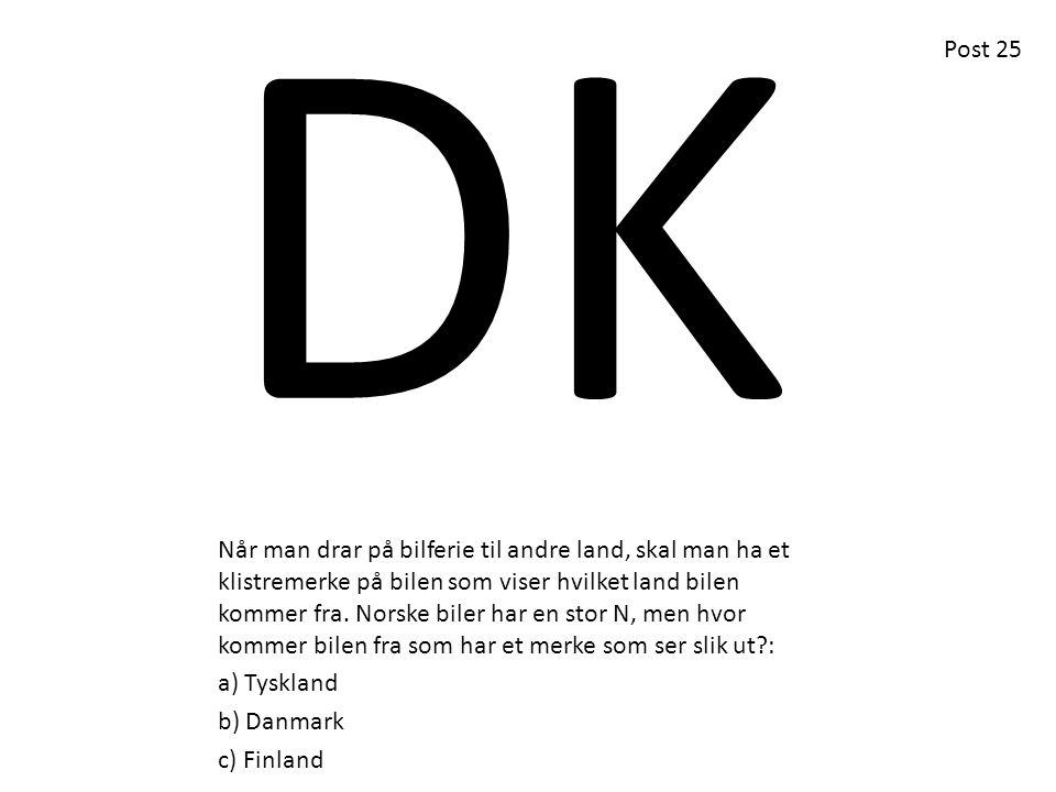 DK Post 25.