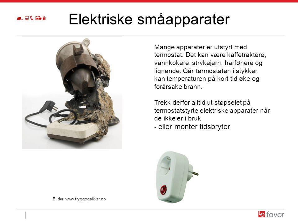 Elektriske småapparater