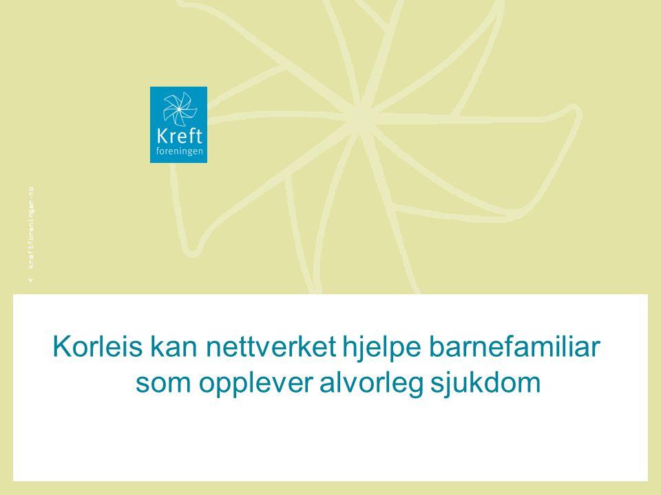 Korleis kan nettverket hjelpe barnefamiliar som opplever alvorleg sjukdom