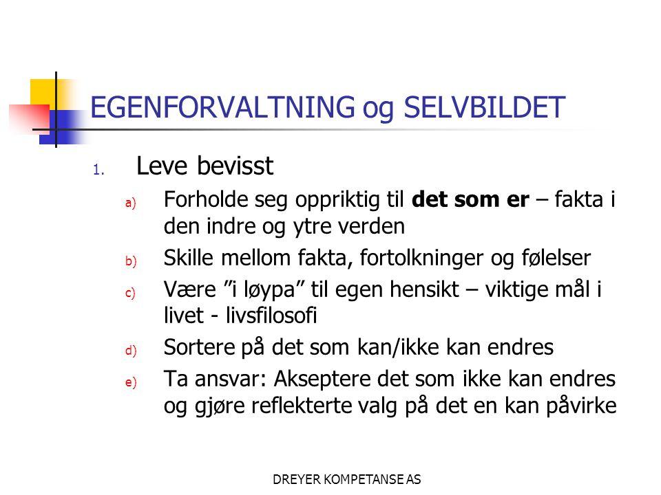 EGENFORVALTNING og SELVBILDET