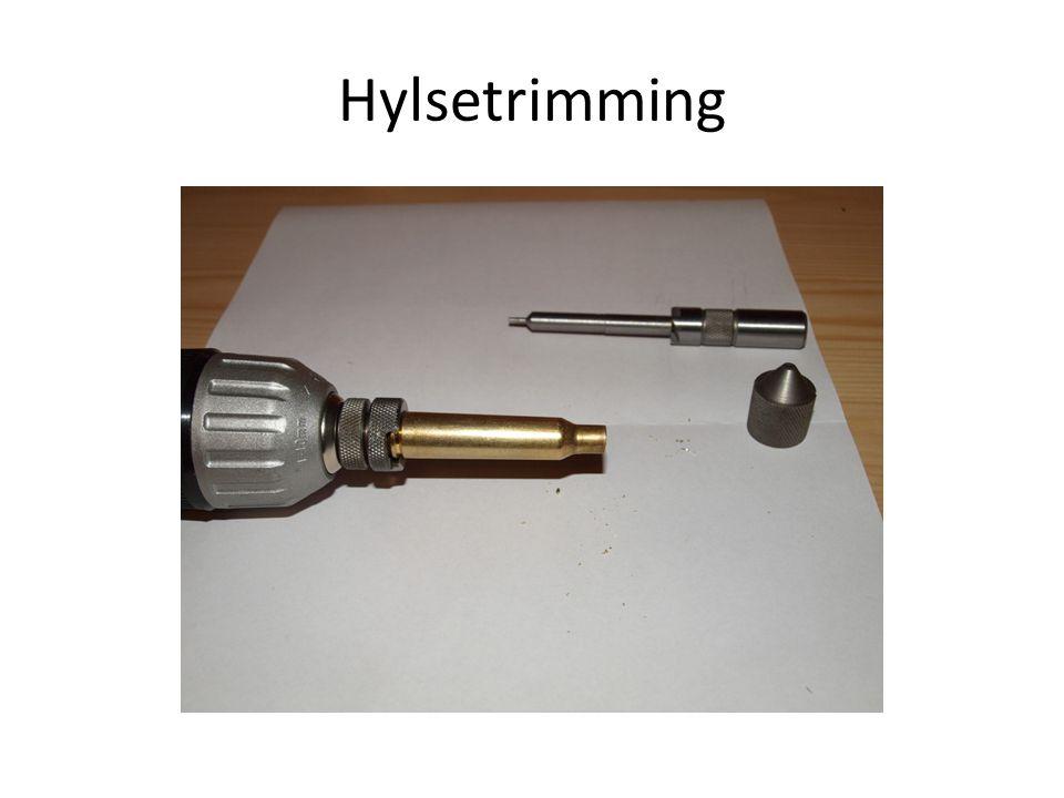 Hylsetrimming