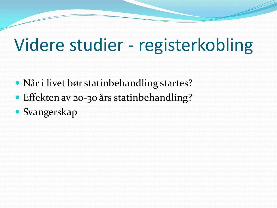 Videre studier - registerkobling