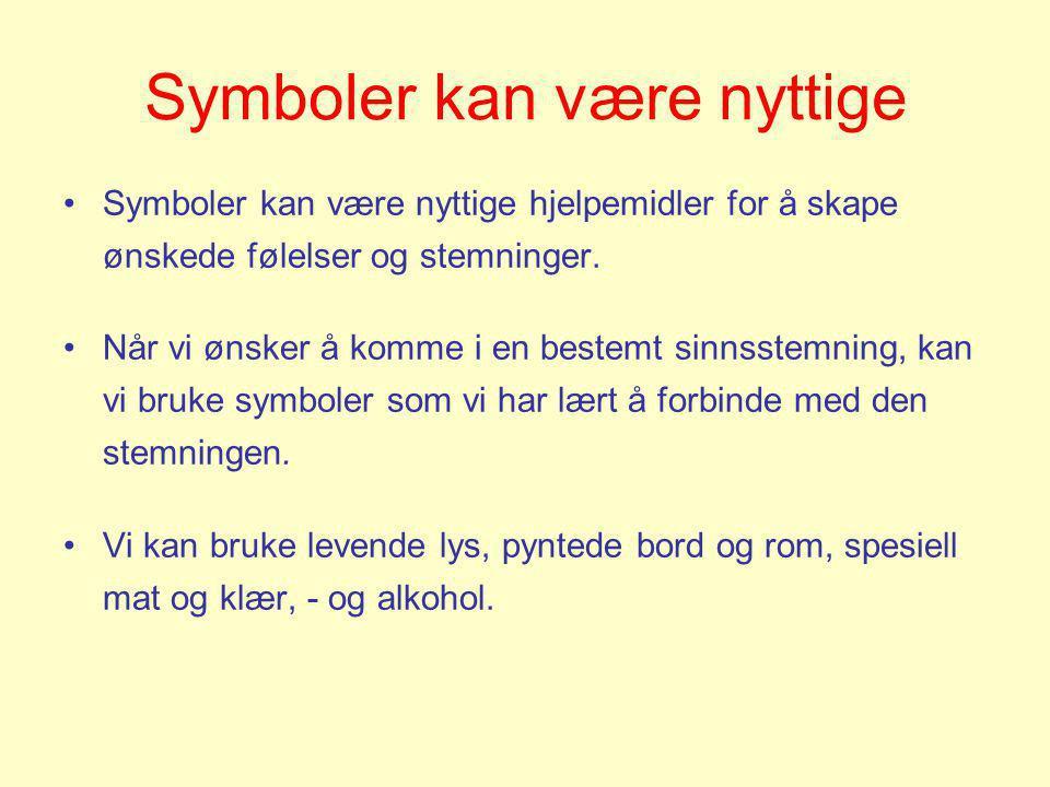 Symboler kan være nyttige