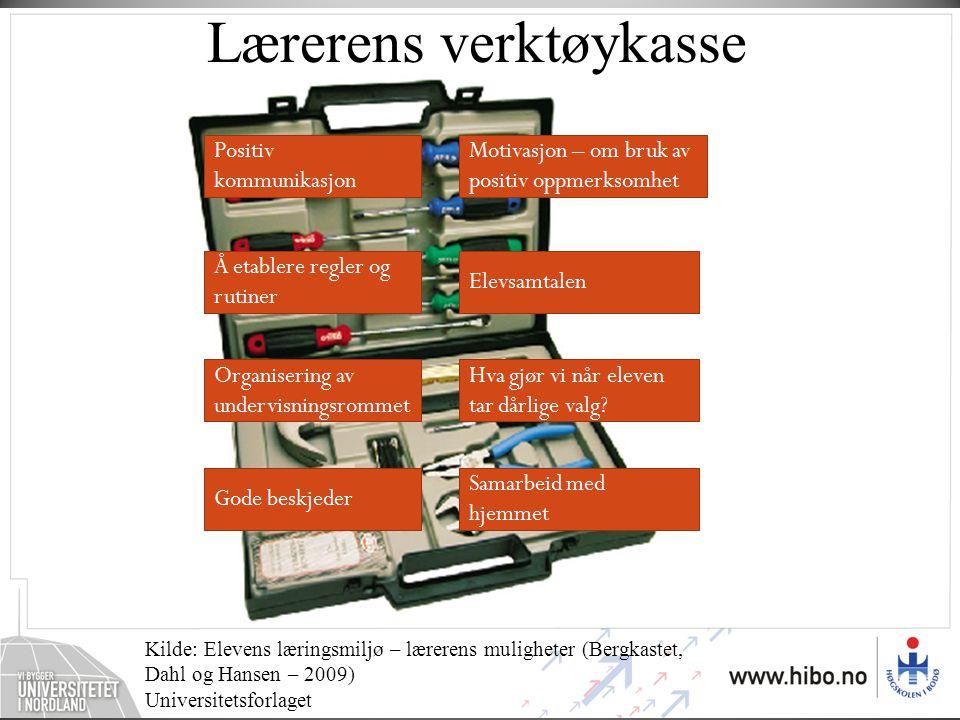 Lærerens verktøykasse
