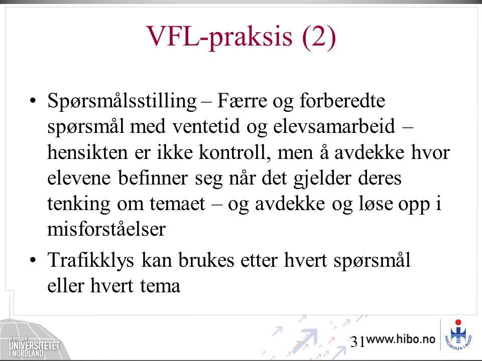 VFL-praksis (2)