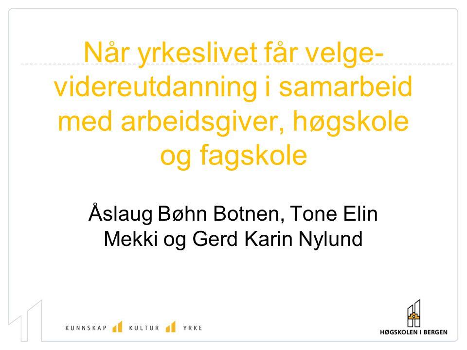 Åslaug Bøhn Botnen, Tone Elin Mekki og Gerd Karin Nylund