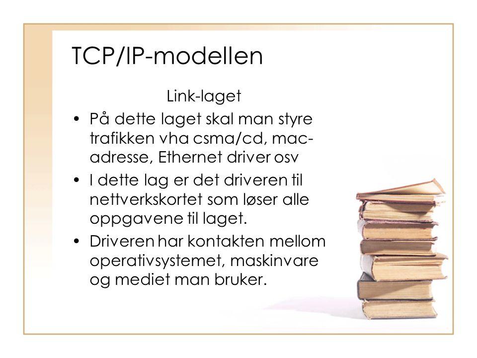 TCP/IP-modellen Link-laget