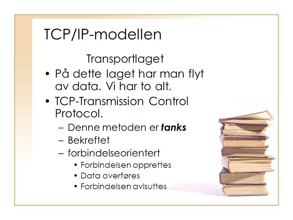 TCP/IP-modellen Transportlaget
