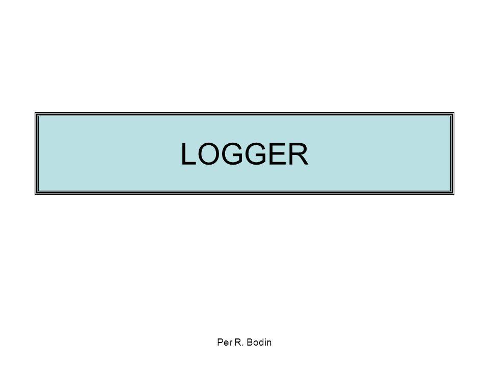 LOGGER Per R. Bodin