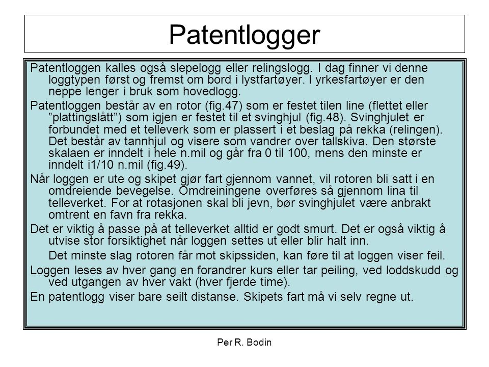Patentlogger