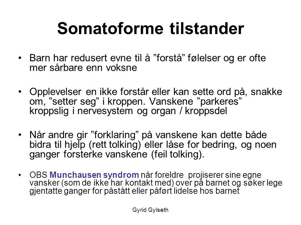 Somatoforme tilstander
