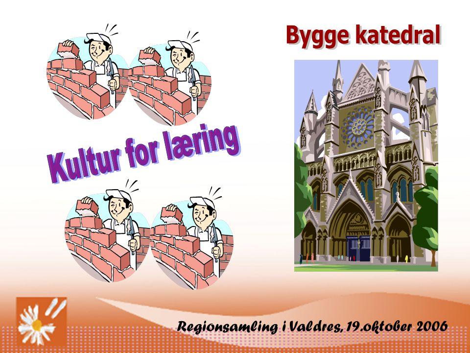 Bygge katedral Kultur for læring