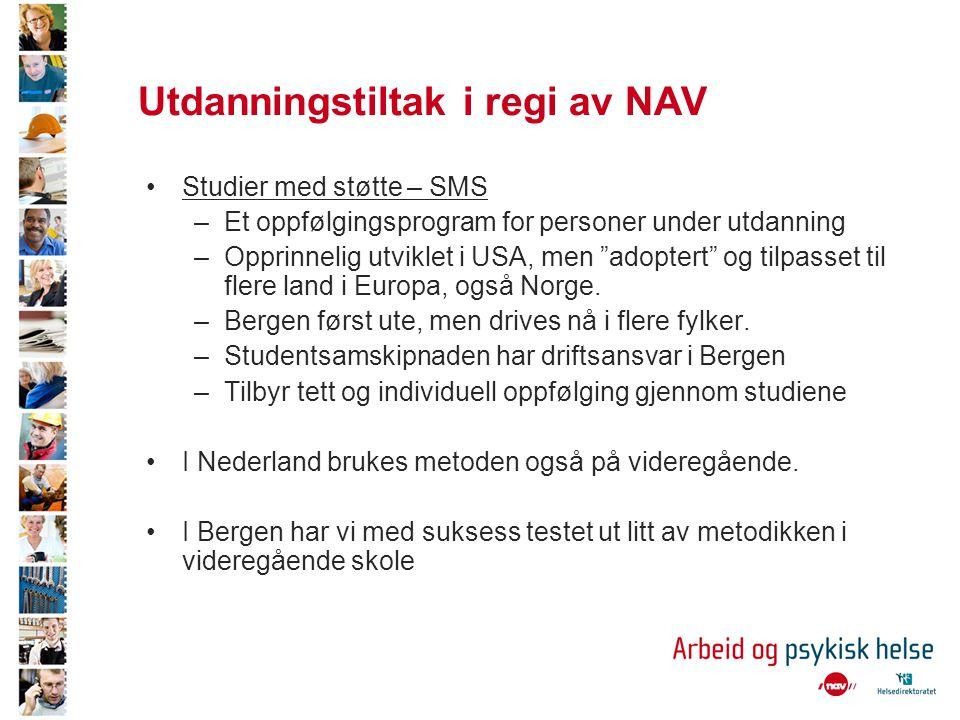 Utdanningstiltak i regi av NAV