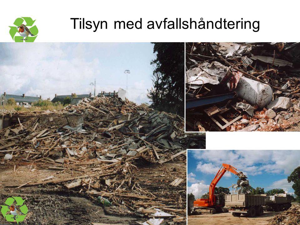 Tilsyn med avfallshåndtering
