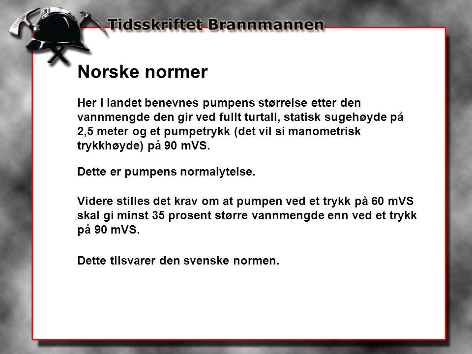 Norske normer