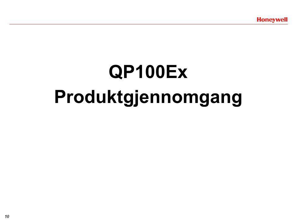 QP100Ex Produktgjennomgang