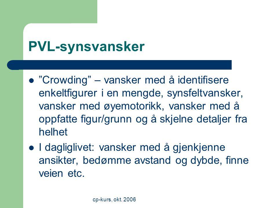 PVL-synsvansker