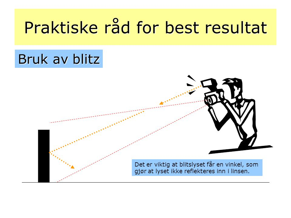 Praktiske råd for best resultat