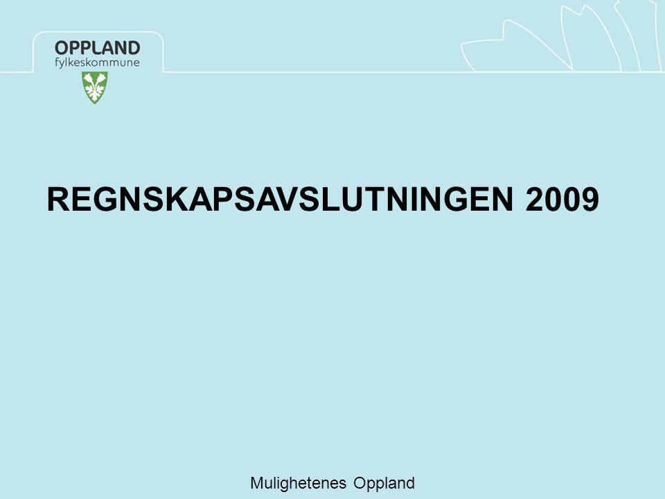 REGNSKAPSAVSLUTNINGEN 2009