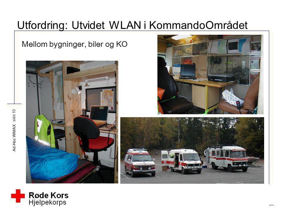 Utfordring: Utvidet WLAN i KommandoOmrådet