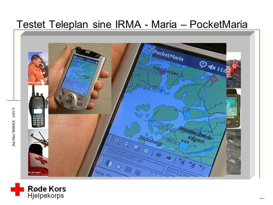 Testet Teleplan sine IRMA - Maria – PocketMaria