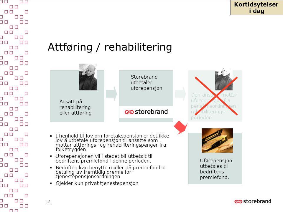 Attføring / rehabilitering