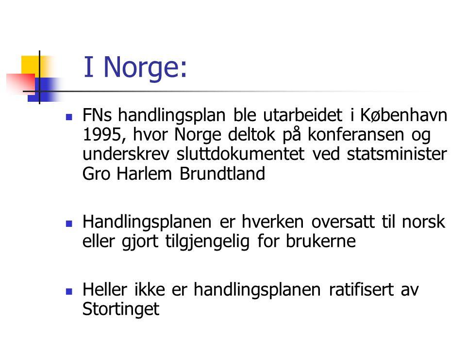I Norge:
