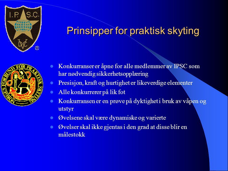 Prinsipper for praktisk skyting