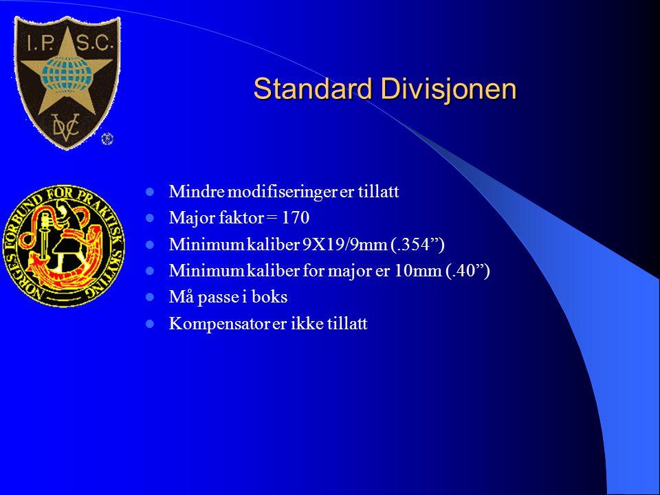 Standard Divisjonen Mindre modifiseringer er tillatt