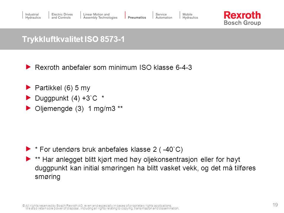 Trykkluftkvalitet ISO 8573-1