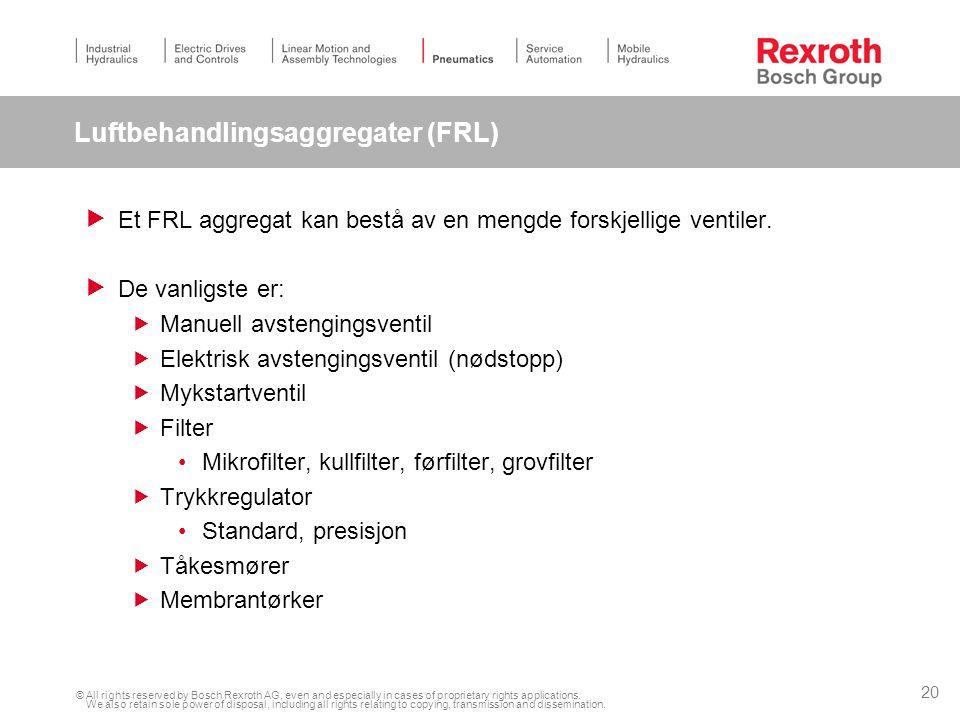 Luftbehandlingsaggregater (FRL)
