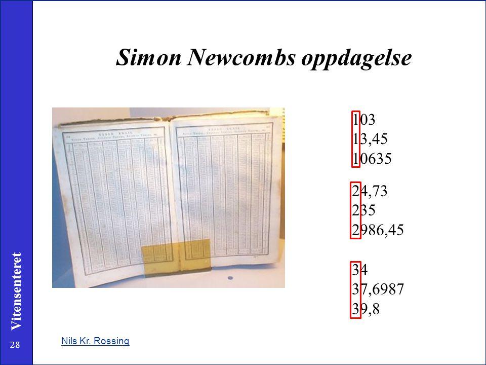Simon Newcombs oppdagelse