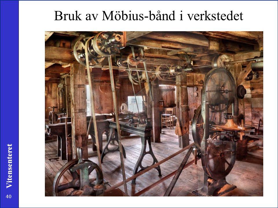 Bruk av Möbius-bånd i verkstedet