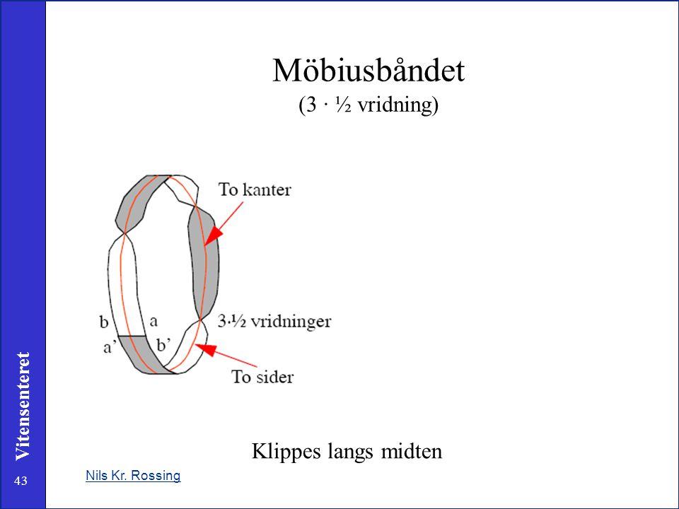 Möbiusbåndet (3 · ½ vridning)