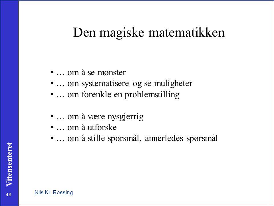 Den magiske matematikken