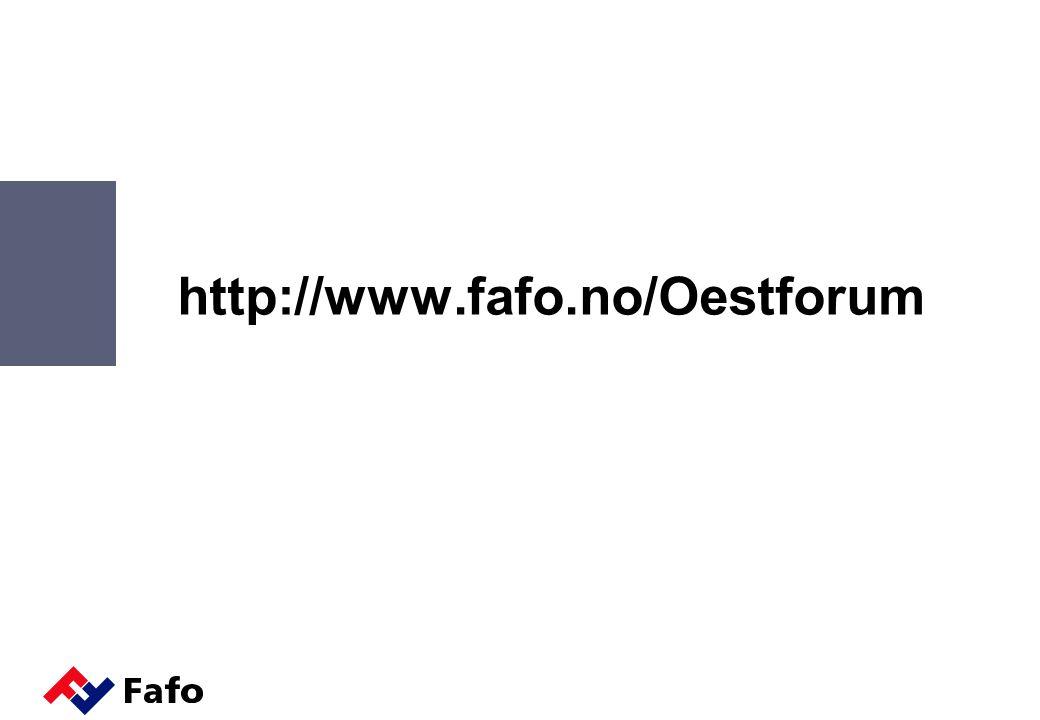 http://www.fafo.no/Oestforum