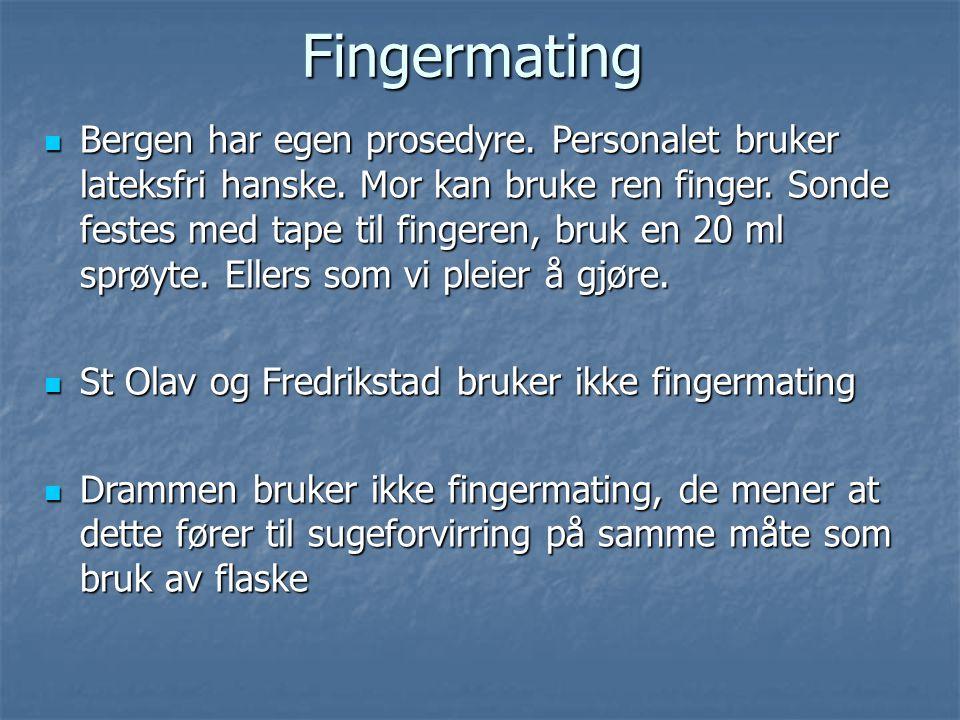 Fingermating