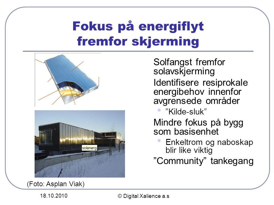 Fokus på energiflyt fremfor skjerming