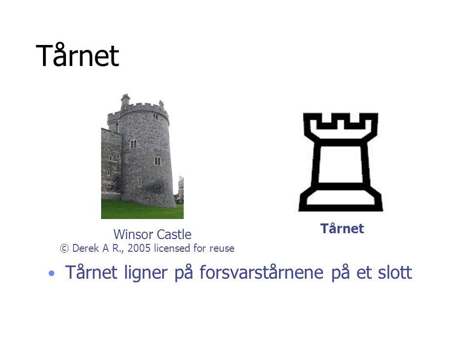 Tårnet Tårnet ligner på forsvarstårnene på et slott Tårnet