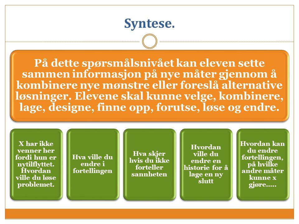 Syntese.