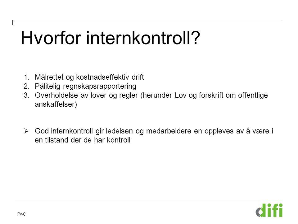 Hvorfor internkontroll