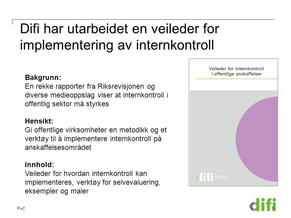 Difi har utarbeidet en veileder for implementering av internkontroll